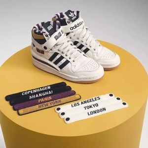 Adidas High Forum 84 X Girls Are Awesome